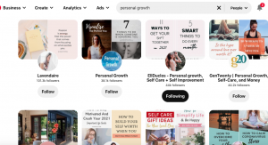 How to rank on Pinterest search