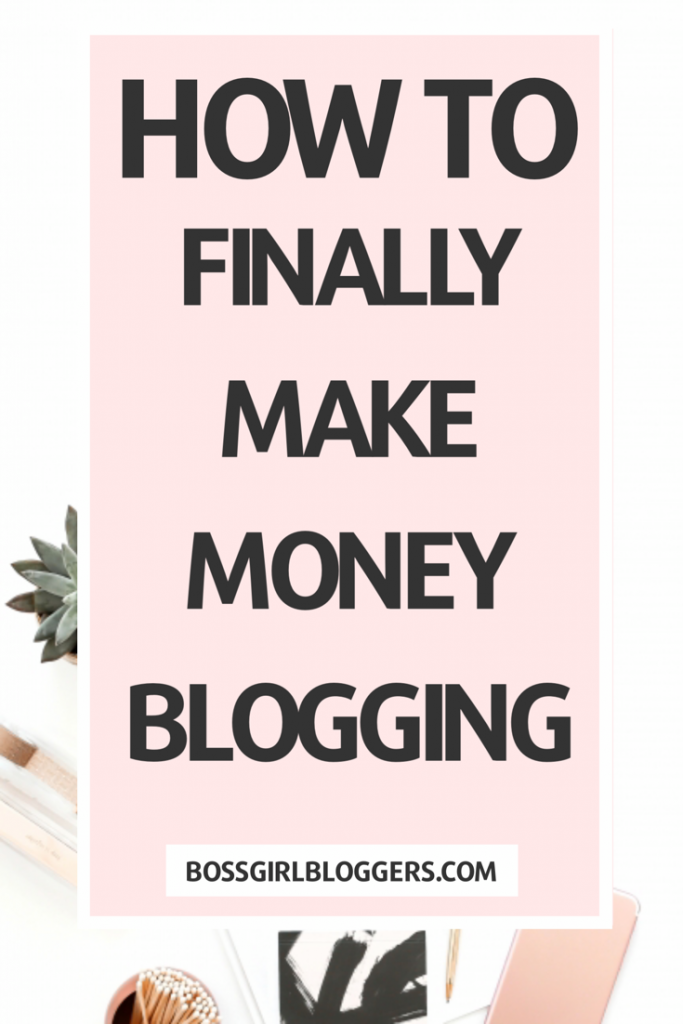 How to finally make money blogging this year! How to turn your blog into a full time career with these tips and tricks.