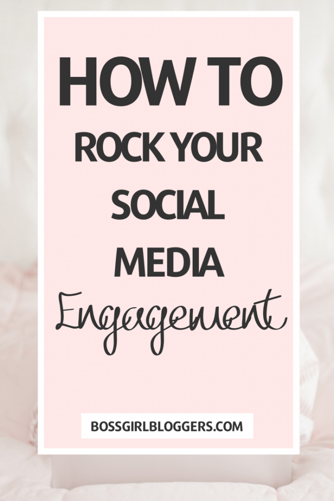 How to rock your social media engagement. How to grow your social media.