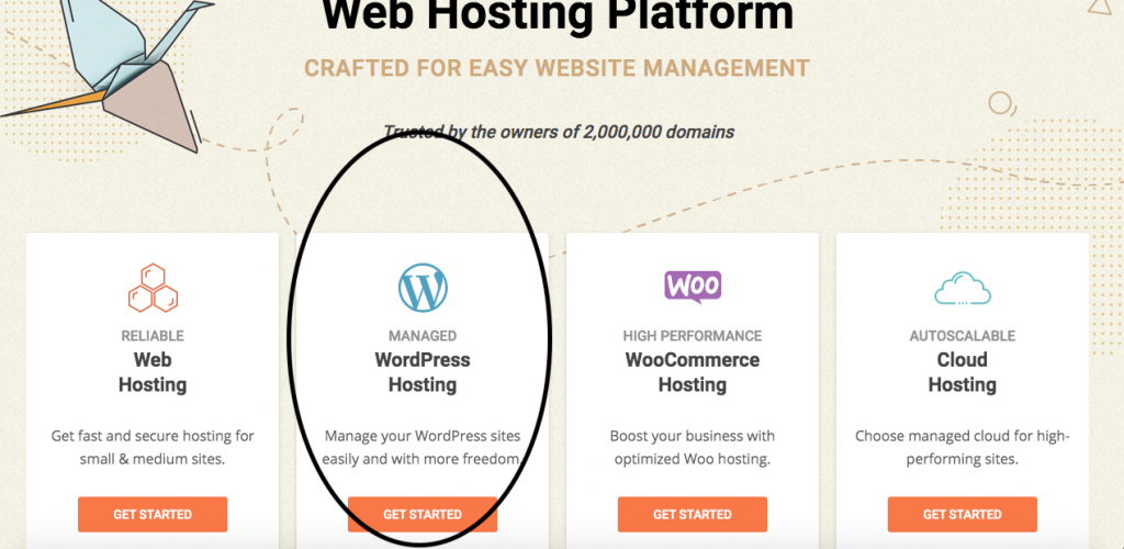 How to start a wordpress blog with Siteground.