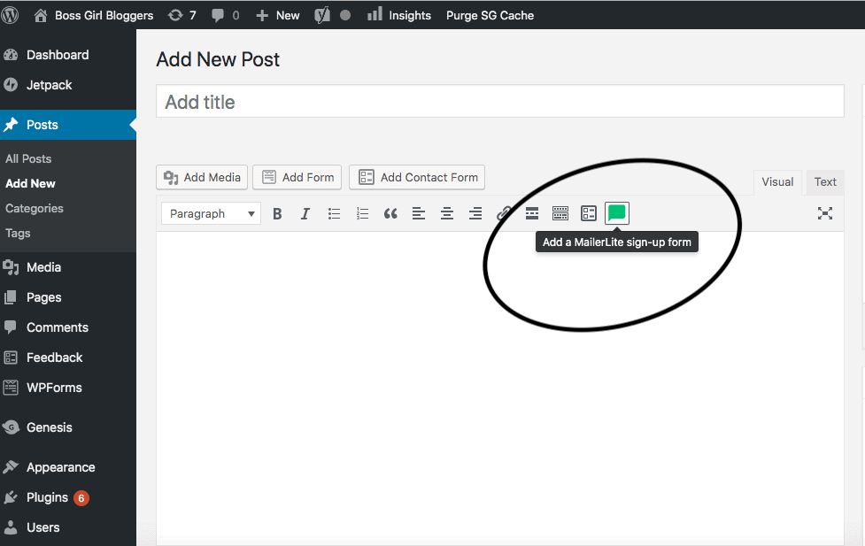 How to start a blog and set up an email list