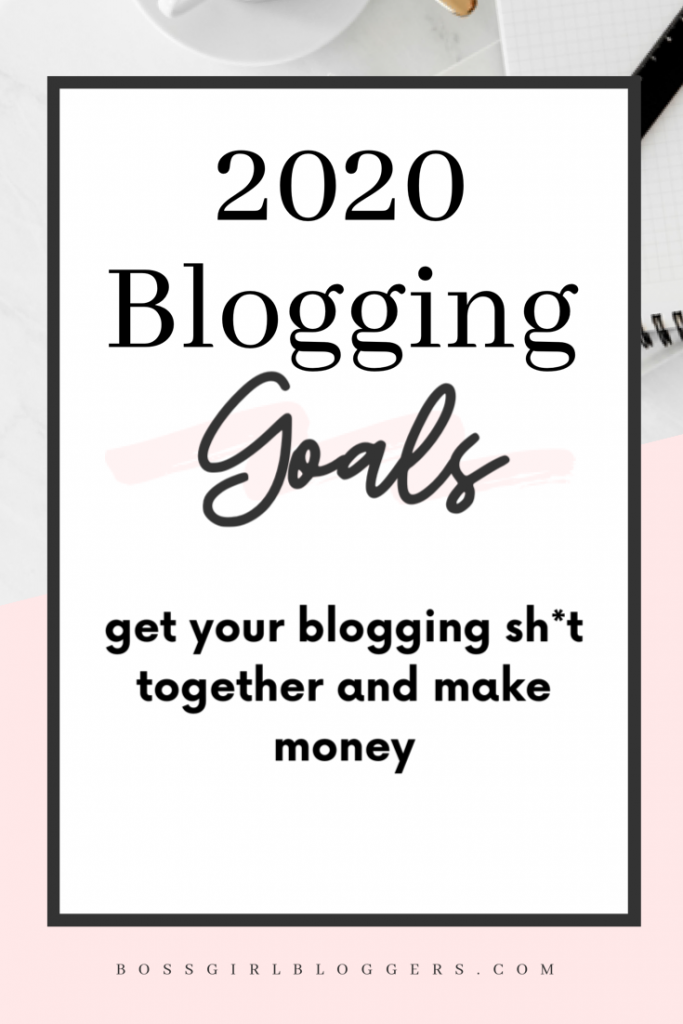 How to take your blog to the next level in 2020 with these blogging goals.