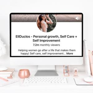 EllDuclos monthly Pinterest views