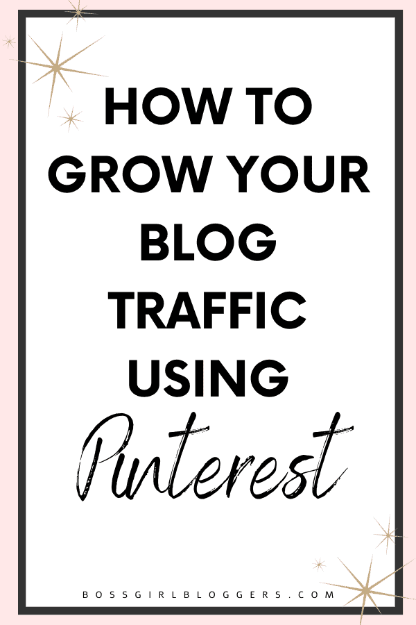 How to grow your blog traffic using Pinterest. 7 helpful Pinterest tips for bloggers.