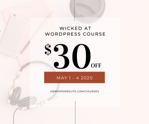 Wicked at wordpress review - why you need to self host your blog