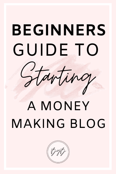 A beginners guide to starting a money making blog