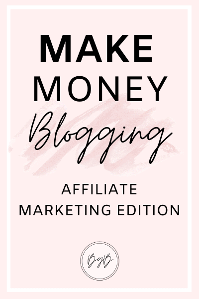 How to make money with affiliate marketing.