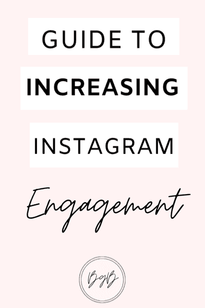 How to increase your Instagram engagement and following
