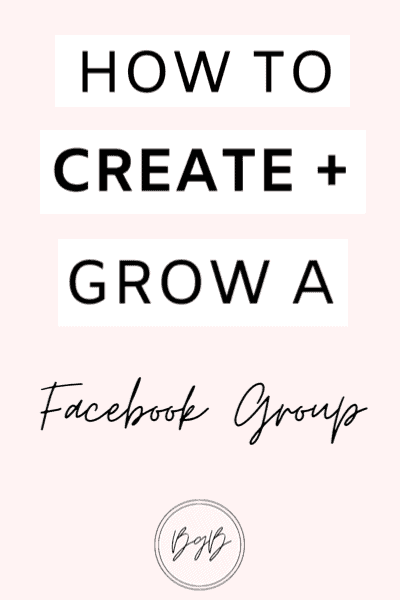 How to create and grow a successful Facebook Group.