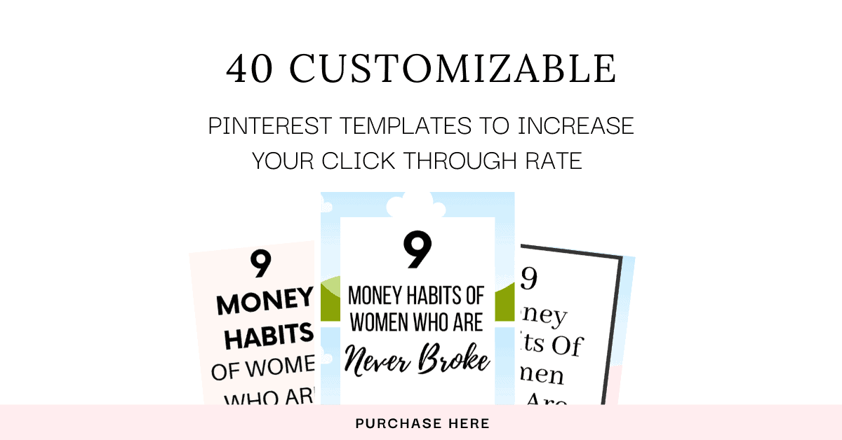 Grab 40 customizable Pinterest Templates