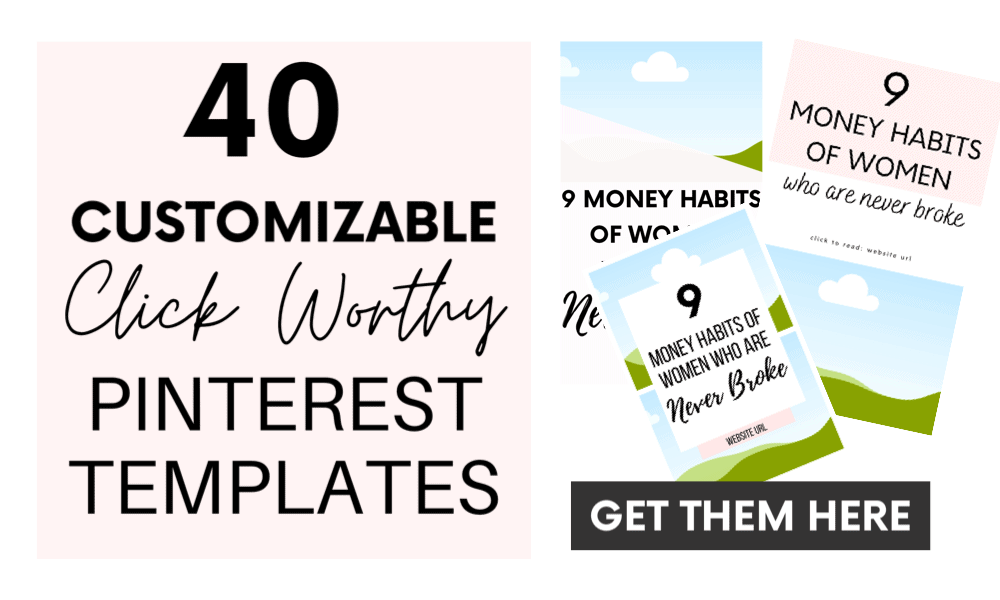 40 Customizable Pinterest Templates