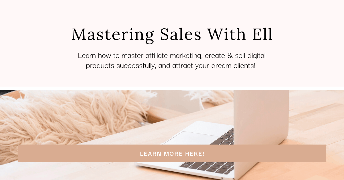 Mastering Sales With Ell