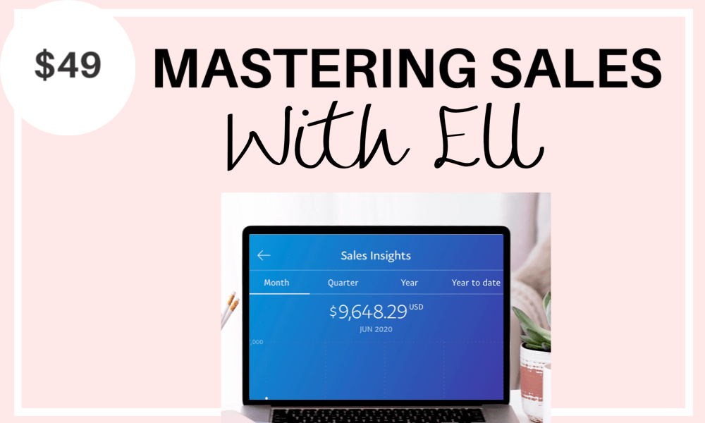 Mastering Sales With Ell - Learn how to increase your affiliate marketing sales, sell your digital products, and find your dream clients