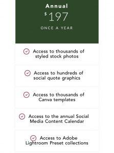 Pixi Stock Membership - girl stock photo membership sites