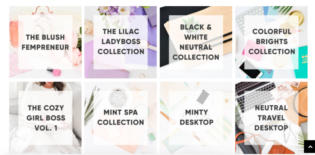 The best feminine stock photo membership sites to bring your brand together