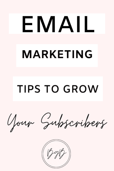 Email marketing strategies. How to get email subscribers fast.