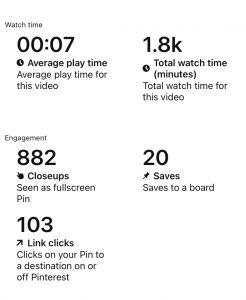 Video pin impressions and the best tips for the new Pinterest algorithm